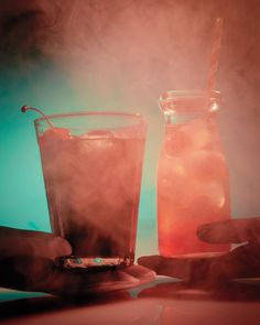 For kids, try a twist on a Shirley Temple, made with blood-orange syrup, maraschino cherries, and seltzer; for grown-ups, whip up a more potent mix of black vodka, lime juice, and black-cherry soda.