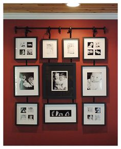 Wall hanging frames picture hangers new Ideas Picture Arrangements, Family Wall, Family Room, Family Pictures, Bedroom Photos, Bedroom Art, Hanging Frames, Picture Hangers, Hanging Pictures