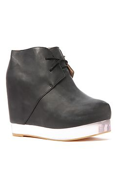 The Alexis Shoe in Black and Clear by Jeffrey Campbell  $200.00 onsale for $115.95 FAVORITE!