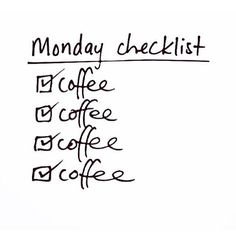 Needed in copious amount this morning. #newweek #coffee #mondaymotivation