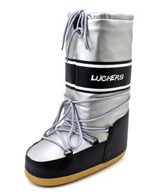 Luckers Women's Navy Blue Snow Boots ** Click image to review more details.