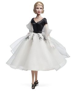 Amazon.com: Barbie Collector Rear Window Grace Kelly Doll: Toys & Games