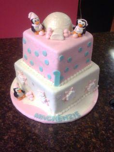 Winter Onederland Cake