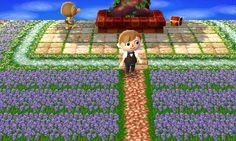 Lavender Fields, Lavender Flowers, Acnl Paths, Animal Crossing Qr Codes Clothes, New Leaf, Scene, Coding, Kids Rugs, Fan Art