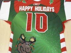 Happy Holidays 2010 (back) Alaska Aces