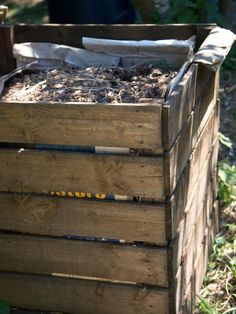 Before you build a compost bin, check out these tips and tricks for getting it set up and started.