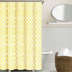 <strong>Echelon Home</strong> Irving Place Shower Curtain