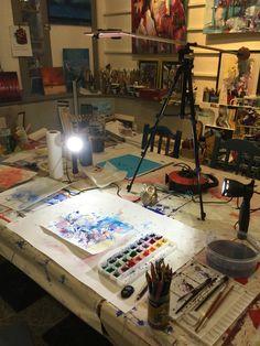 Ich habe mein videocanal auf YouTube Kunsthaus Inna Tumarkin Youtube, Furniture, Design, Home Decor, Art, Atelier, Painting Art, Art Background, Decoration Home