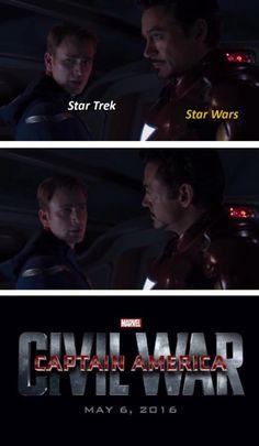 Console war   Captain America: Civil War 4 Pane / Captain America vs Iron Man   Know Your Meme