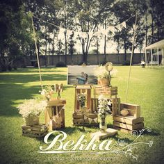 Decoracion boda rustic vintage / wedding decor