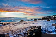 Wood's Cove, Laguna Beach, Ca.