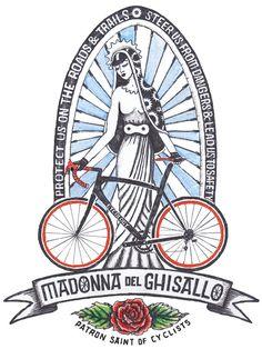 Patron Saint of Cyclists