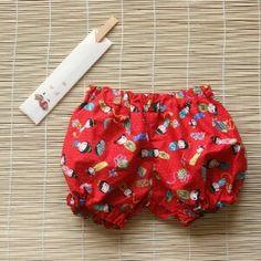 Shorts Kokeshi de Muxugorri en ROPA NIÑOS - Muxugorri