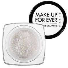 MAKE UP FOR EVER Diamond Powder in White Gold 2 - white with gold shimmer #sephora