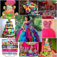 Do you have a huge sweet tooth? If so, you should consider throwing a Candyland themed quince!