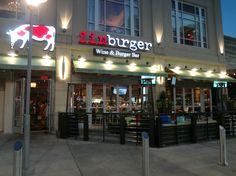 Zinburger Atlanta - at Lenox Mall - their gourmet burgers & shakes are so delicious!