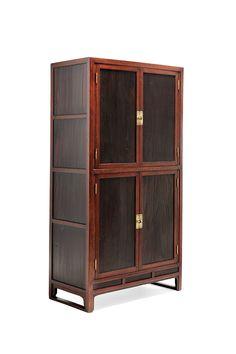 Book Cabinet 사층책장 四層冊欌 조선후기 상수리나무, 오동나무, 소나무 82×42×157.5(h)cm