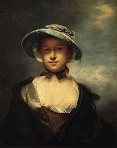 Catherine, Lady Chambers. Reynolds,1756