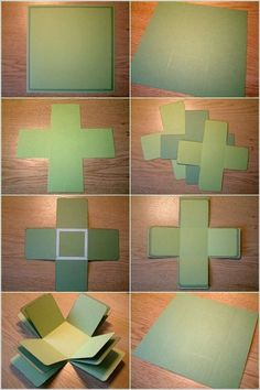 Found this exploding box tutorial. Great way to share your memories on a special occasion. Follow these simple and easy steps:   To make thi...