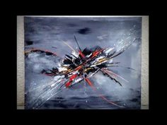 demonstration vidéo HD YouTube peinture abstraite acrylique shadingart - YouTube