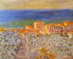 Claude Monet - La Marine à Bordighera, 1884