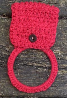 Towel Holder... Looks easy. no pattern
