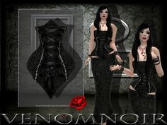 Second Life Marketplace - ~VN~CorsetDark