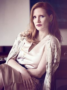 Jessica Chastain Source — Jessica Chastain photographed by Matthew...