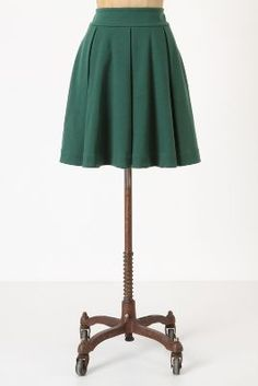 Pleated Ponte Skirt by Maeve