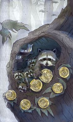 Seven of Coins by Molly Applejohn