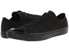 Converse Chuck Taylor® All Star® Core Ox Monochrome Black - Zappos.com Free Shipping BOTH Ways