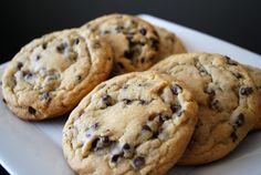 Delightful Homemade Chocolate Chip Cookies