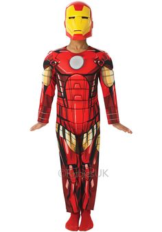 State-of-the-art Boy's Iron Man Costume. Impress your friends with Iron Man Costumes for Halloween, Halfway to Halloween at CostumePub. Iron Man Costume Kid, Iron Man Halloween Costume, Halloween Costumes For Kids, Happy Halloween, Iron Man Avengers, Marvel Avengers, Marvel Comics, Iron Man Fancy Dress, Boys Fancy Dress