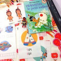 ♥ Mes fiches d'activités Montessori : les Indiens d'Amérique ♥