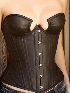 d752498a187 A very interesting take on the Merry Widow. Corsets