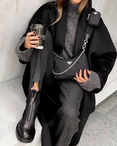 Trend Fashion, Winter Fashion Outfits, Fashion 2020, Look Fashion, Fall Outfits, Autumn Fashion, Casual Winter Outfits, Womens Fashion, Holiday Fashion