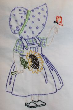 Sunbonnet Sue.. Love the vintage patterns