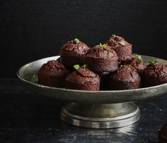 Paleo Friendly Cinnamon + Thyme Chocolate Cupcakes Recipe