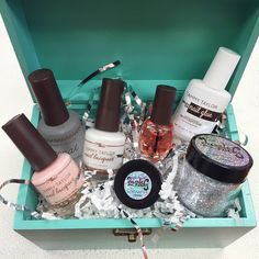 What better way to ask your best girlfriends to be your bridesmaids then by giving them Z Coat, Bubbles Nail Lacquer, CA French White Nail Lacquer, Crystal Rainbow Rhinestones, City Lights Loose Dazzle Rocks, Brush On Nail Glue AND some Peach Cuticle Oil?!