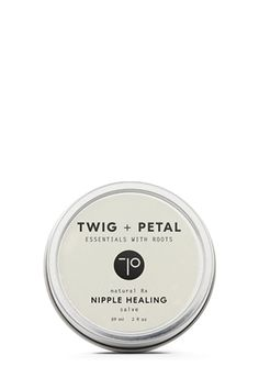 Twig + Petal® Nipple Healing Roller is a new mama's best friend. Apply to nipples to help prevent pain and chapping. Use after breastfeeding for intense soothing and healing relief