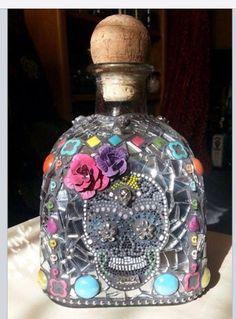Re-purposed patron bottle