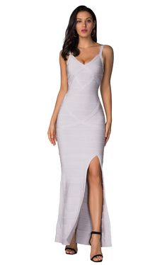 Product Name: Herve Leger Bandage Dress Long V Neck Scallop White Gender: Women Silhouette: Sheath Material: 90% Rayon,9% Nylon,1% Spandex Occasion: Red Carpet Dresses,Oscar Dresses,Party Dress,Cocktail Dress,Club Dress,Daily wear Oscar Dresses, Club Dresses, Formal Dresses, Woman Silhouette, Herve Leger, Red Carpet Dresses, Tank Dress, Daily Wear, Dress Long