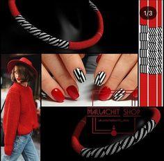 Bead Crochet Rope, Beaded Crochet, Beaded Jewelry, Handmade Jewelry, Crochet Designs, Seed Beads, Diy And Crafts, Nails, Pattern