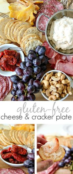 How to make a simple gluten-free cheese and cracker plate using supermarket ingredients that doesn't come with a hefty price tag. #BretonGlutenFree #CleverGirls