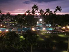 Sunset from the Waikoloa Beach Marriott Resort & Spa