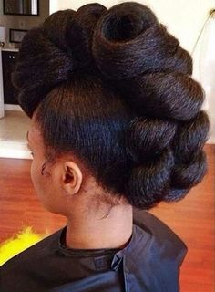 20 Tuck And Roll Styles That Are Too Pretty For Words [Gallery] Read the article here - http://www.blackhairinformation.com/general-articles/playlists/20-tuck-and-roll-styles-that-are-too-pretty-for-words-gallery/