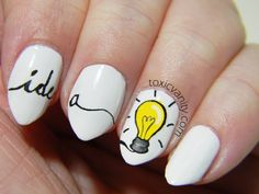 Idea nail art by Toxic Vanity