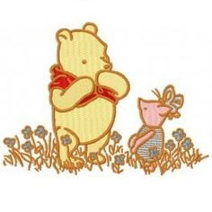 """3.94(W) × 2.91""""(H)~All Embroidered Winnie the Pooh Iron on Patches    are                    made        of high quality items, high quality  felt              (Eco-friendly  polyester   made   from                recycled          post-customer  plastic       bottles) ~Iron on applique can be applied to Tops, towels, bags, cd  cases, pants, jackets and more... ~1000's                                   of designs available,  Everything from       Angry       Birds    to        Ziggy,    If…"""