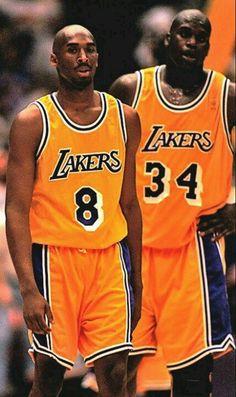 Kobe Bryant (8) & Shaquille O'neal (34)