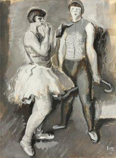 Behind of scenes,1932- Iosif Iser